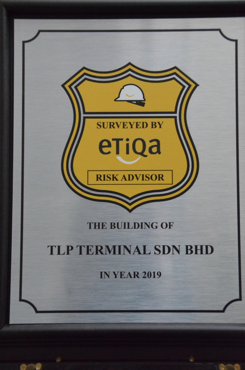 Silver Plaque Etiqa Insurance Risk Advisor 2019
